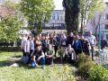 Абитуриентите засадиха дървото на Випуск 2019 - СУ Никола Йонков Вапцаров - Царево