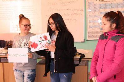 Обучение на ученическия екип БМЧК - Изображение 5