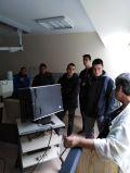 Посещение на десетокласниците в рентгеновия кабинет - СУ Никола Йонков Вапцаров - Царево